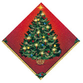 Christmas Table Accessories Warmth of Christmas Beverage Napkins Image