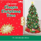 Christmas Decorations Classic Christmas Tree Backdro Image