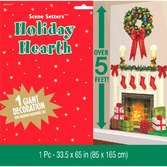 Christmas Decorations Holiday Hearth Prop Image