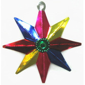 Cinco de Mayo Decorations Star Tin Ornament Image