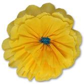 Fiesta Decorations Rachel's Golden Yellow Flower Image