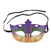 Mardi Gras Party Wear Mardi Gras Glittery Mask Image