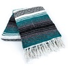 Amols teal mexican blanket