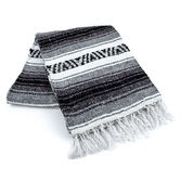 Cinco de Mayo Decorations Gray Mexican Blanket Image