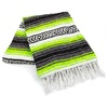 Amols lime green mexican blanket