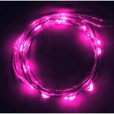 Glow Lights Pink LED String Lights Image