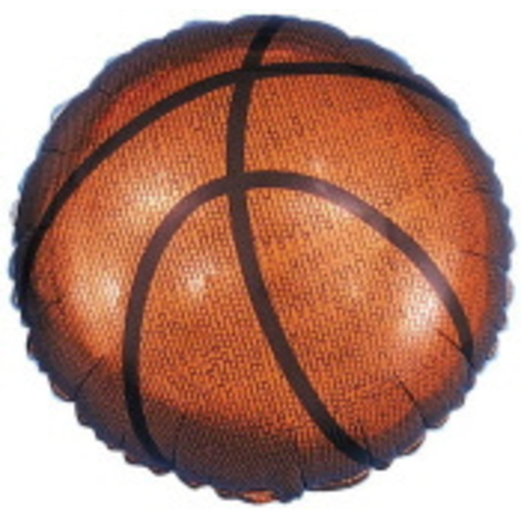 Sports Balloons Basketball Mylar Balloon Image