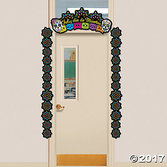 Day of the Dead Decorations Day of the Dead Door Border Image