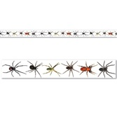 Halloween Decorations Spiders Party Tape Image