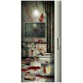 Halloween Decorations Creepy Crapper Door Cover Image