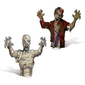 Halloween Decorations 3D Mummy and Zombie Cntpc Image