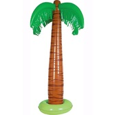 Luau Decorations Jumbo Palm Tree Inflate Image