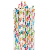 Day of the Dead Table Accessories Day of the Dead Paper Straws Image